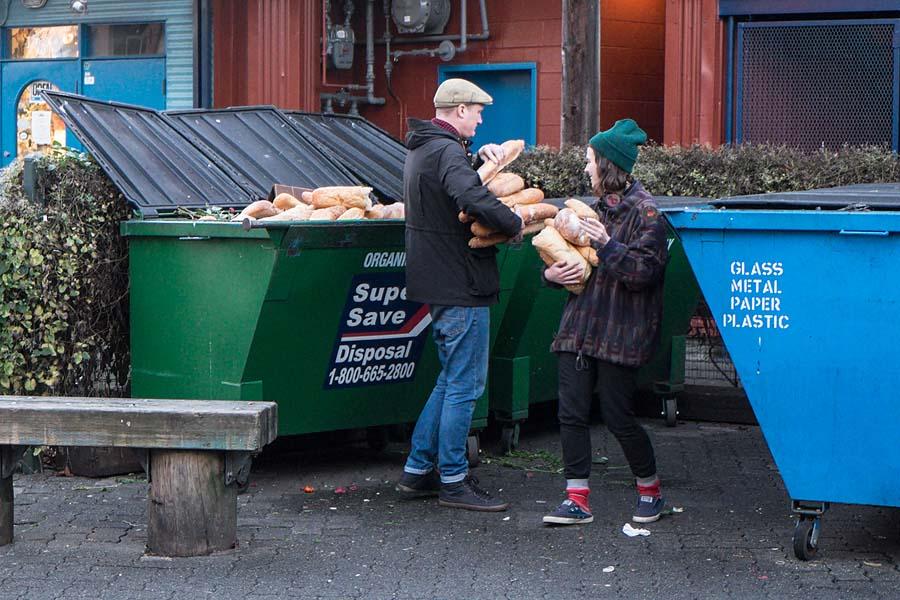 Dumpster food 5