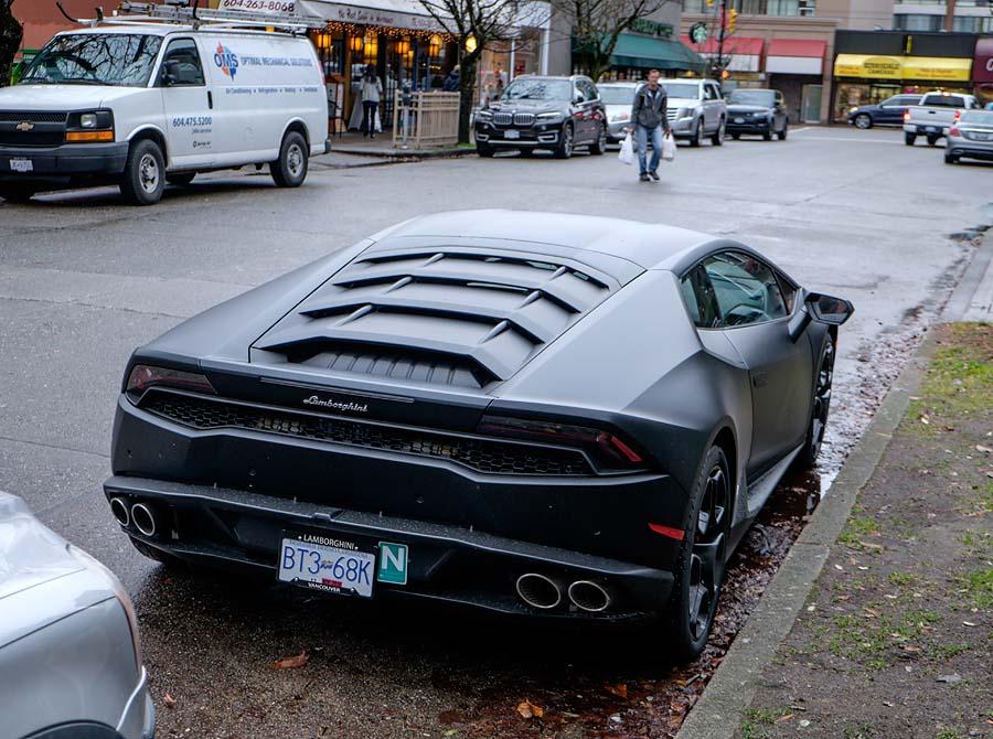 Lamborghini novice driver