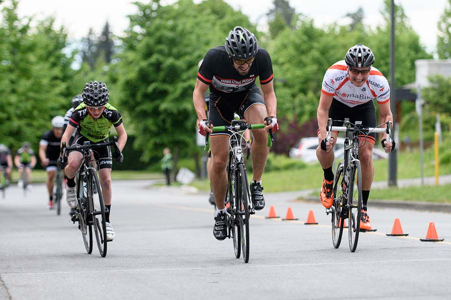 May 3rd, 2016 -- Escape Velocity Tuesday night criterium at UBC.