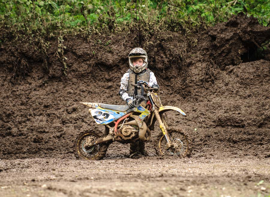 Motocross in the mud Agassiz