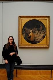 """""""The Turkish Bath,"""" Jean Auguste Domonique Ingres, Museé du Louvre, Paris."""