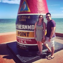 Southernmost point in the continental US (May 2015)