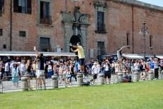 My favorite thing about Pisa... watching everyone pose!
