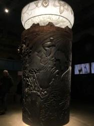 Giant wooden Guinness pint