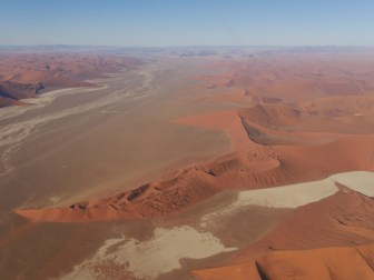 Flight over Sossusvlei