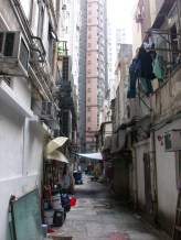 I was hoping to have a kung Fu fight down this alleyway.
