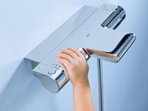 mischbatterie dusche thermostate f r auf und unterputz. Black Bedroom Furniture Sets. Home Design Ideas