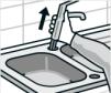 Küchen Mischbatterie rausnehmen inkl. Anschlussschläuche