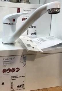 Küchen Mischbatterie Weiß