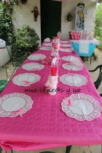 cumpleaños infantil jardín