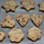 Horneado galletas