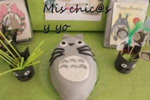 Tarta Totoro cumpleaños