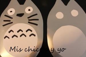 Decoración fiesta Totoro