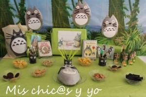 Cumpleaños Totoro