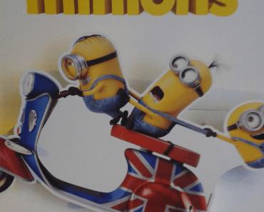 Cartel de la película de los Minions