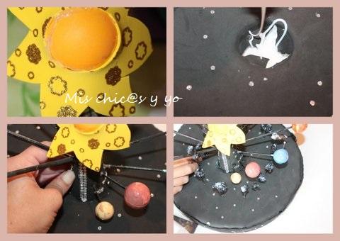 Maqueta sistema solar paso a paso