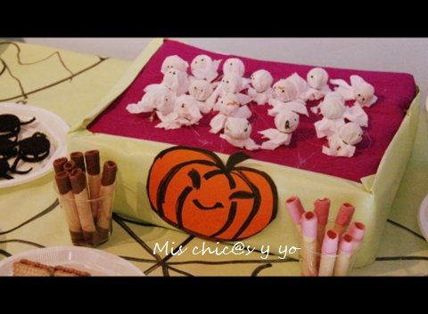Fantasmas chupa-chups halloween