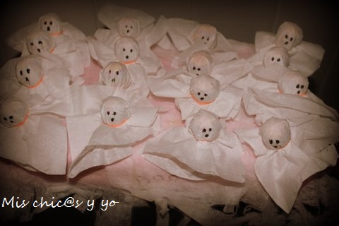 Fantasmas Chupa Chups Halloween