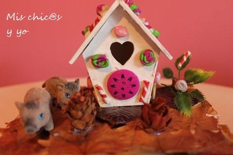 Manualidad infantil casa Hansel y Gretel
