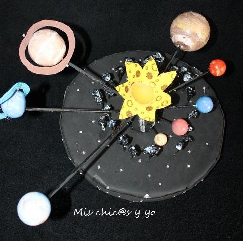 Maqueta colegio. Sistema Solar
