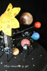 Maqueta sistema solar primaria