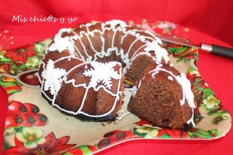Bundt cake chocolate Cola Cao