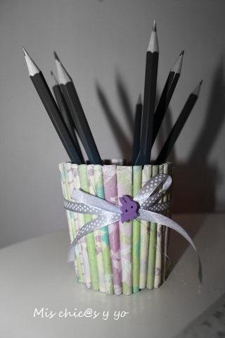 Manualidades con rollitos de papel