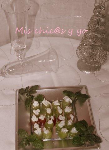 Receta #día aperitivo uvas