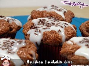 Magdalenas de chocolate sin azúcar