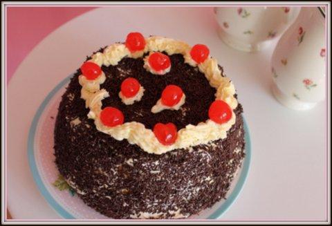 Receta de tarta Sara de chocolate