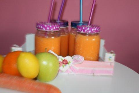 Receta zumo zanahoria