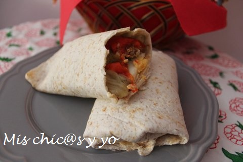 Receta Mission Wraps