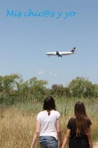 Delta llobregat aviones