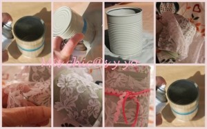 Cómo decorar latas