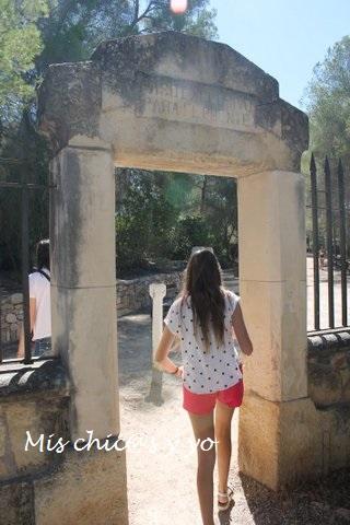 Entrada al parque ecohistórico, Tarragona