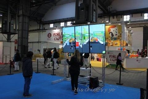 Juegos virtuales en el Festival de la Infancia