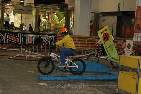 Biketrial, Festival de la Infancia