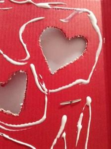 Manualidad para San Valentin de papel