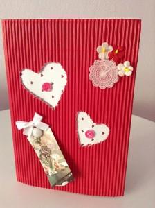 Manualidad de papel para San Valentin