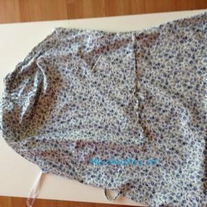 Forrando una carpeta con telas recicladas