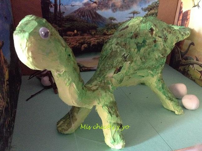 Maqueta De Dinosaurio Para El Colegio Mis Chic S Y Yo