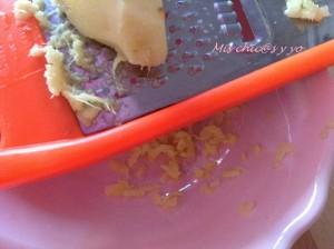 Rallar jengibre Receta de galletas de mantequilla con jengibre