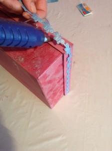 Reciclar caja de cartón