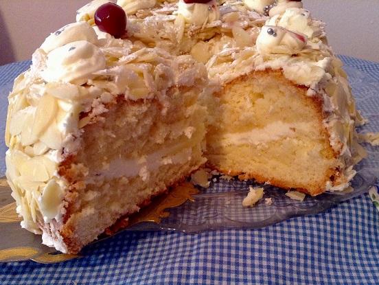 Receta de tarta Sara Bernhardt