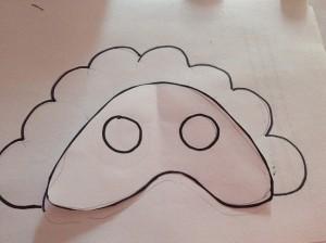 Molde de máscara