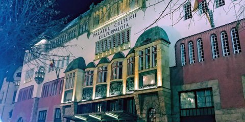 Palacio de Cultura, Tirgu Mures