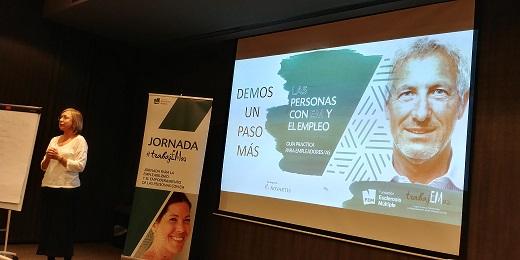 #TrabajEMos, esclerosis múltiple ponencia