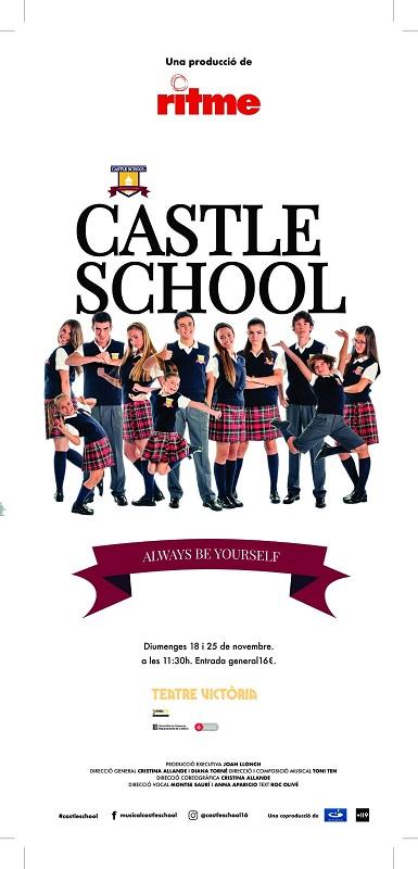Musical Castle School, cartel
