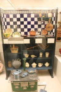 Cocina antigua de juguete Museo del juguete de Catalunya