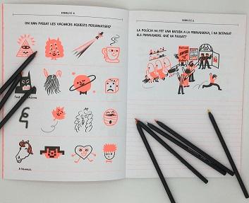 Cuadernito de escritura divertida vol. 2 Páginas interiores